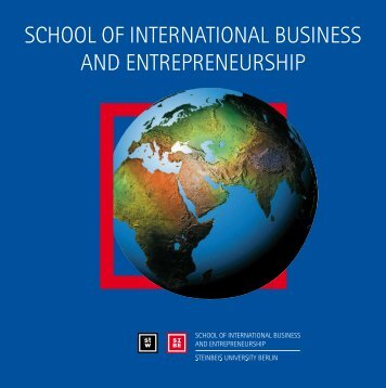 school of international business and entrepreneurship - SIBE