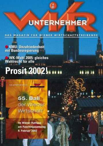 Prosit 2002! Prosit 2002! - wirtschaftsverband.at