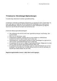 Til beboerne i Borettslaget Bjølsenborgen - Herborvi.no