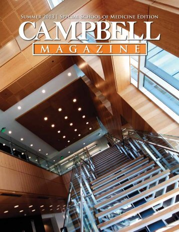 Download a pdf of the Summer 2013 issue - Campbell University