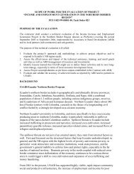 ProNorte Evaluation SOW - Economic Growth - usaid