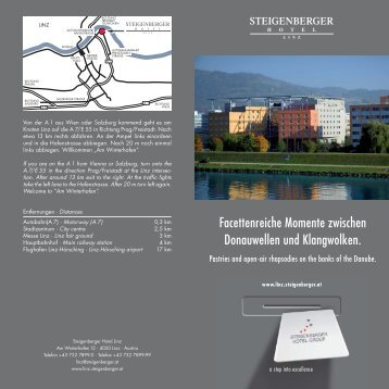 Hotelprospekt - Steigenberger Hotels and Resorts