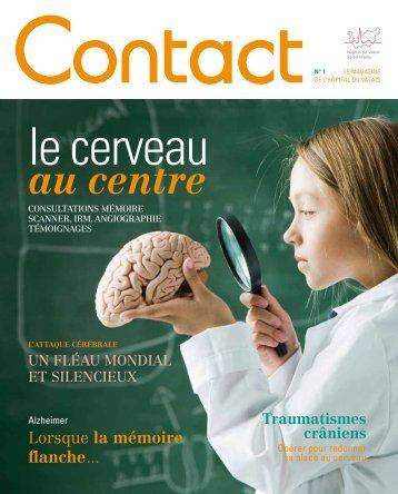 Contact Magazine - N°1 2012 - Hôpital du Valais