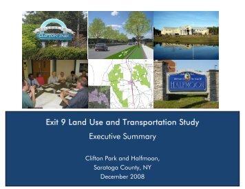 Exit 9 Land Use and Transportation Study Executive Summary