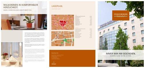 Tagungsplaner - Steigenberger Hotels and Resorts