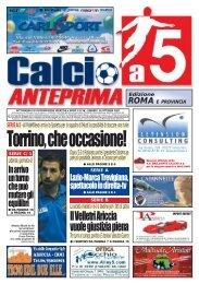 calcio a 5 anteprima 36/07