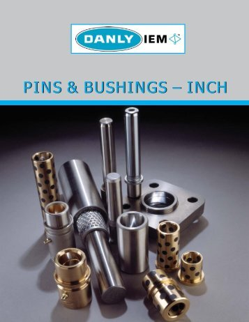Danly IEM - Pins and Bushings - Inch - Anchor Danly