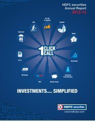 Annual Report 2012-2013 - HDFC Bank