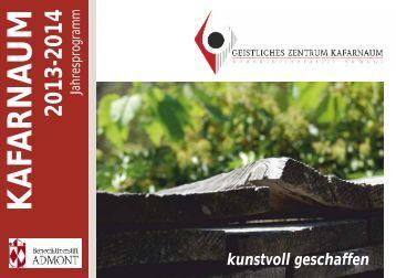Das Programm 2013-14 (PDF) - martyria.de