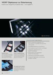 VISOR® Objektsensor zur Teileerkennung