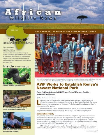 Read More - African Wildlife Foundation