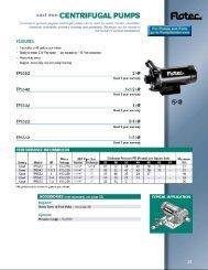 Pompes centrifuges - PumpVendor.com