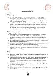Huishoudelijk reglement Apeldoornse Kynologen Club Artikel ... - Akc