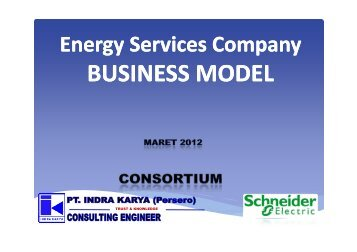 Energy Services Company Business Model - IESR