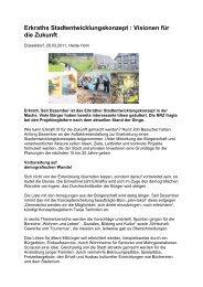 Artikel NRZ vom 29.03.2011 - Zukunft Erkrath