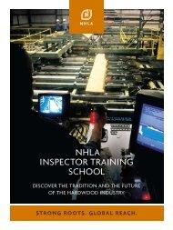 nhla inspector training school - National Hardwood Lumber ...