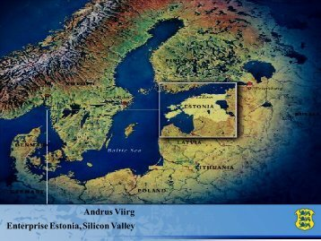 Estonia Introduction - European Entrepreneurship and Innovation ...