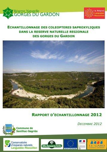 RAPPORT D'ECHANTILLONNAGE 2012 - Le site internet du CEN LR