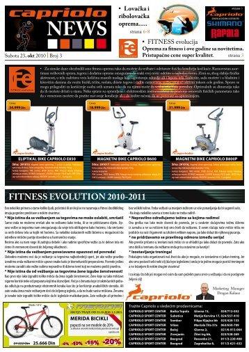 pogledajte novost u pdf formatu - CAPRIOLO bicikl