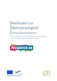 Methoden zur Mehrsprachigkeit - Poliglotti 4