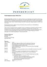 Persuitnodiging Congres Talking Trash - PressPage