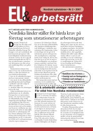 Nyhetsbrevet som PDF - Arbetslivsinstitutet - Stockholms universitet