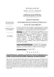 Délib204- Souscription de contrats d'assurance pour la CCPRO ...