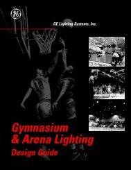 Gymnasium & Arena Lighting