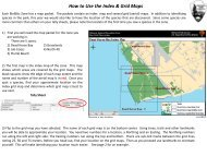 How to Use the Index & Grid Maps