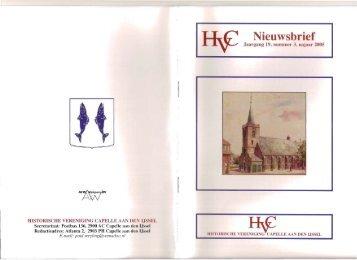 Nieuwsbrief 2005-03 - Historische Vereniging Capelle aan den IJssel