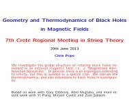 Geometry and Thermodynamics of Black Holes in Magnetic Fields ...