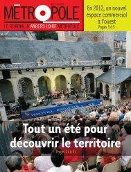 Metropole 19 ete 2008 01.pdf - Angers Loire Métropole