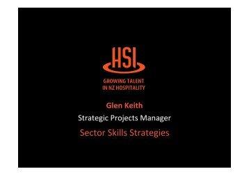 Glen Keith, Hospitality Standards Institute - Industry Training ...