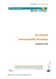 EU eHealth Interoperability Roadmap