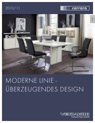 MODERNE LINIE - ÜBERZEUGENDES DESIGN - Venjakob