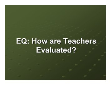 How are teachers evaluated.pdf - Ware County School System