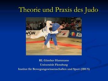 Theorie und Praxis des Judo - Universität Flensburg