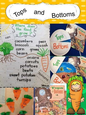 Lesson Plan 7 – Tops and Bottoms - Ag in the Classroom