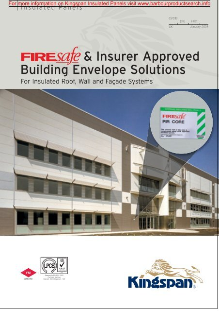 FIREsafe and Insurer Approved Building Envelope Solutions