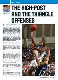 THE HIGH-POST AND THE TRIANGLE OFFENSEs