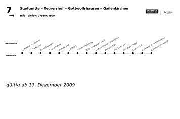 7 Gailenkirchen - Veolia Transport