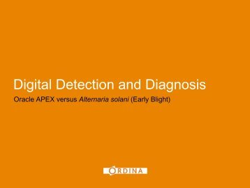 Digital Detection and Diagnosis