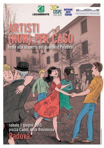 ARTISTI (NON) PER CASO - Legambiente Padova