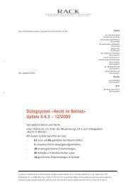 Update 3.4.3 – 12/2009 - RACK rechtsanwaelte