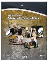 2008 Salary Recommendation - Arizona Human Resources