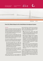 Post 2015: What It Means for the United Nations Development System ...