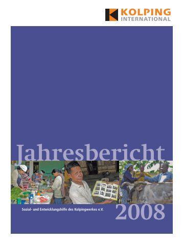Jahresbericht 2008 - Kolping Europa