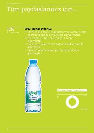 2012 Yılında Pınar Su