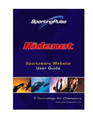 Ridenet Websites - Quick Start Guide - Motorcycling Australia