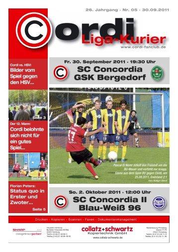 Liga-Kurier 2011/2012 #5 GSK Bergedorf